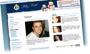 LAYOUT DO PORTAL ENFOQUEMANIA